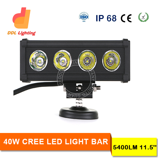 2017 10w crees one row offroad led light bars for 4x4 driving for sale truck tractor