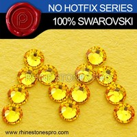 Hot Sale Swarovski Elements Light Topaz (226) 20ss Flat Back Crystal No Hot Fix Rhinestone