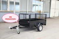 Hot Australia Utility trailer with cage dump trailer
