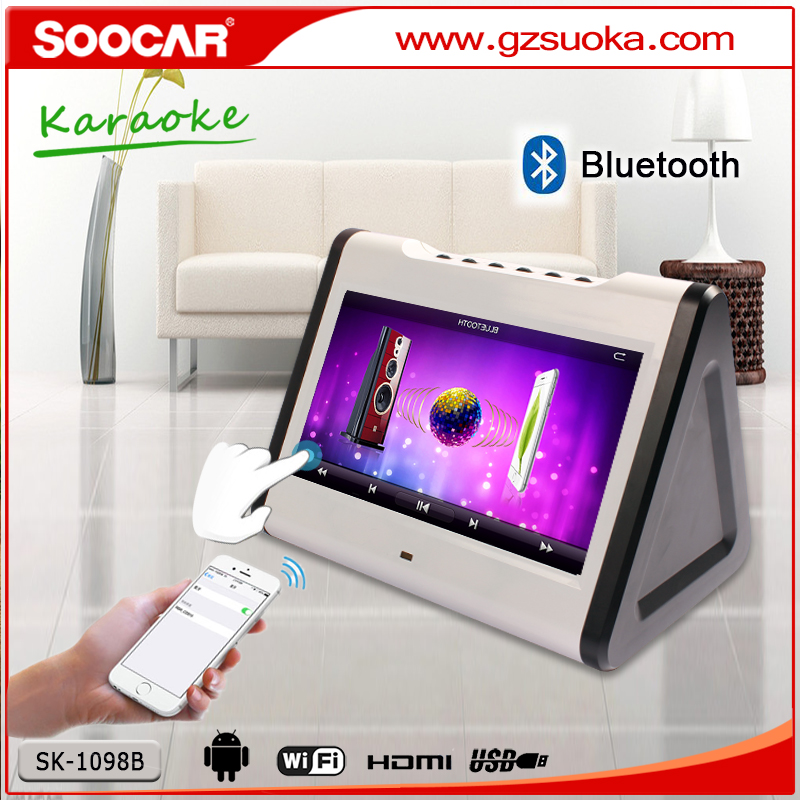 professional online hdd touchscreen android portable top home karaoke player singapore for kids