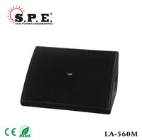 spe audio pa monitor speaker dual 12 inch audio stage monitor box universal turbo sound speaker