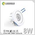 0-100% dimming no flick with Ipas Namron Eltako dimmer best selling IP44 led downlight 8wa 13w 15w cob downlight led