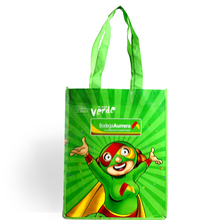 pp non woven recycled tote reusable green bag manufacturer laminated printing high quality lowet price in china