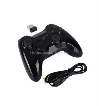 Android TV Box Accessories Android 2.4Ghz Wireless Gamepad Straight wireless range up to 8 Meters