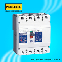 2018 dc mccb Moulded Case Circuit Breaker prices 160A 200A 250A 3P