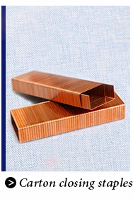 Plastic Qian jiang wood 4-14mm staples