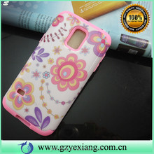 For Galaxy S5 Mini Back Cover, New Arrival PC Silicone Hard Case