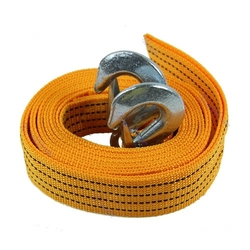 HF-001(3)High Quality Strong Mini Emergency Tool 2 Tons Car Tow Rope Auto Tow Strap