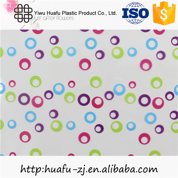 Free sample waterproof paper sheet gift and flower cellophane wrap