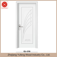 2014 Popular White PVC wooden door for Kicthen