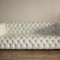 French Fabric Wooden French Furniture Sofa