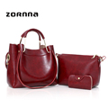 Wide Strap Women's Leather Best Red Shoulder Handbags Bag Large Leather Purse With Shoulder Strap