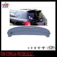 ABS car roof spoiler for TOYOTA COROLLA FIELDER 10-12 with LED lamp auto exterior decoration