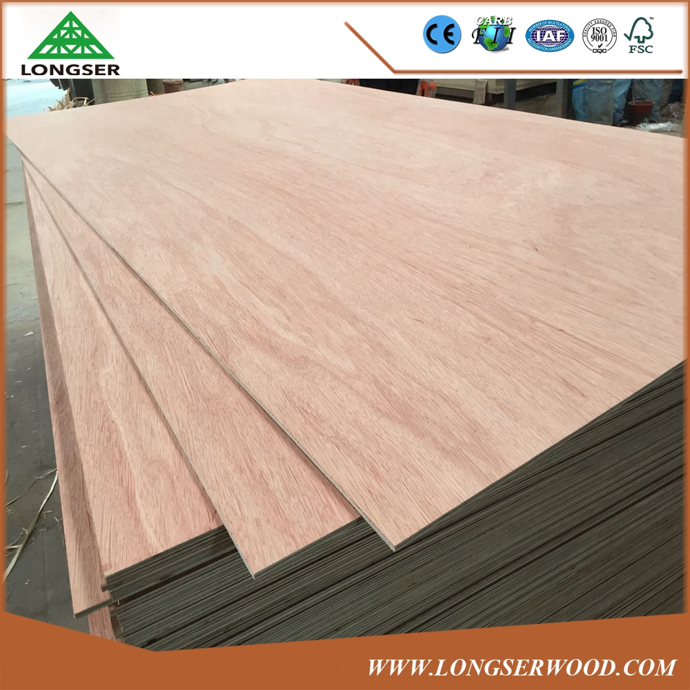 Good Quality 18mm Commercial Plywood Board for Furniture