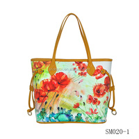 digitally printed woman's bag woman bags fashion