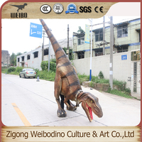 Durable using low price moving dinosaur costume