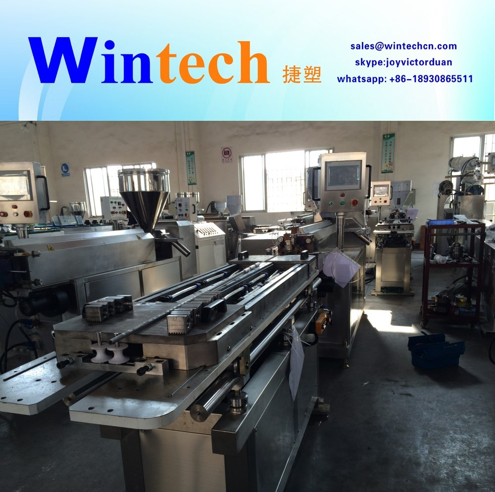 Hot sale medical breath tube making machine extrusion line extruder