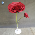 Cheap cost price customized decoration red paper flower luxury artificial flowers