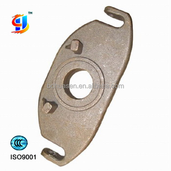 China foundary precision steel casting parts // truck parts // thrust plate //