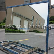 4.0mm grey paint silver and aluminium grade A quality china qingdao glass mirror