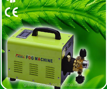 60 bar patio fog system garden fine mist system Humidification water mist cooling system