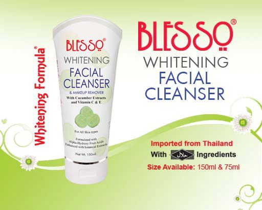 Whitening Facial Cleanser