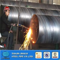 Diameter 20'' SSAW Spiral Steel Pipes with tubo de acero