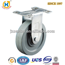 4 inch Medium Duty Rigid Caster With TPR wheel