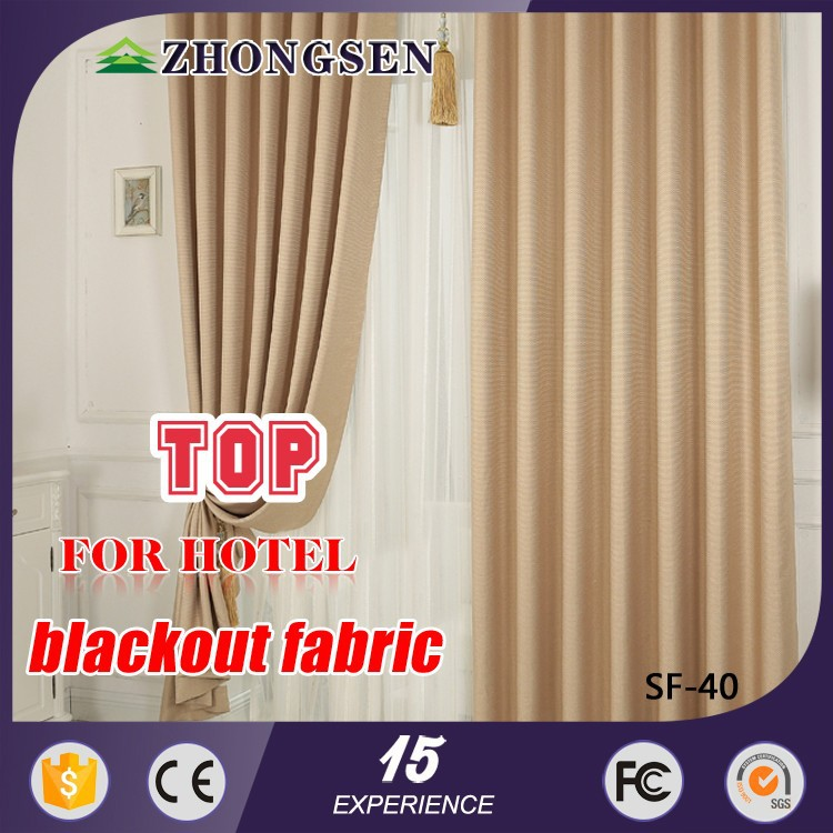 Fashion Home Textile Line Jacqurd Polyester restaur curtain