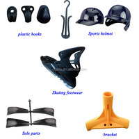 Custom injection molded sports and footwear plastic parts