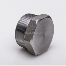 Forged high pressure stainless steel NPT hex tube plug