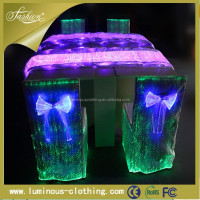 Lighting waterproof PVC printed fancy table cloth YQ-56