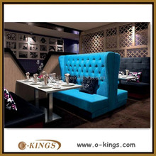 fabric restaurant booth sofa for sale