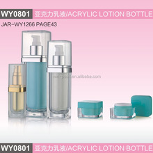 WY0801 new style square acrylic bottle, acrylic lotion bottle