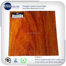 Good quality aluminum profile windows and doors wood transfer film coating