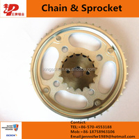 C-100BIZ chain sprocket rear and front gears