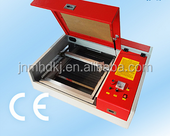 Mini CO2 Laser Engraving Wood Leather Fabric Cutting Machine