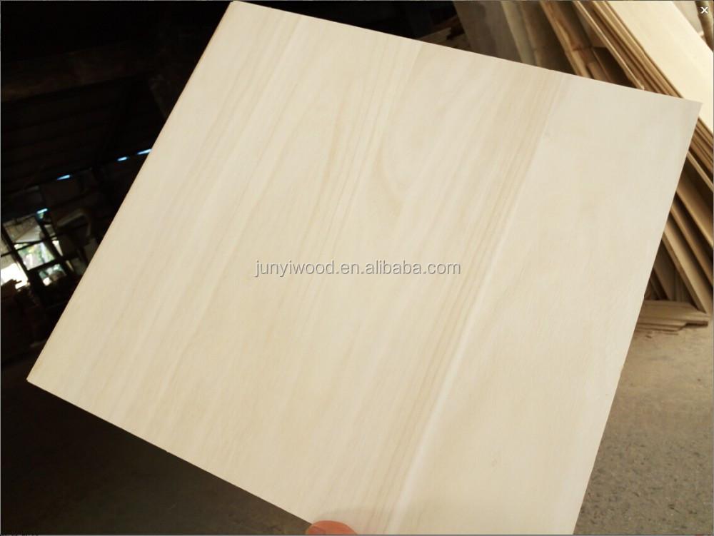 De alta calidad de madera de paulownia tablero de madera - Tablero de madera maciza ...