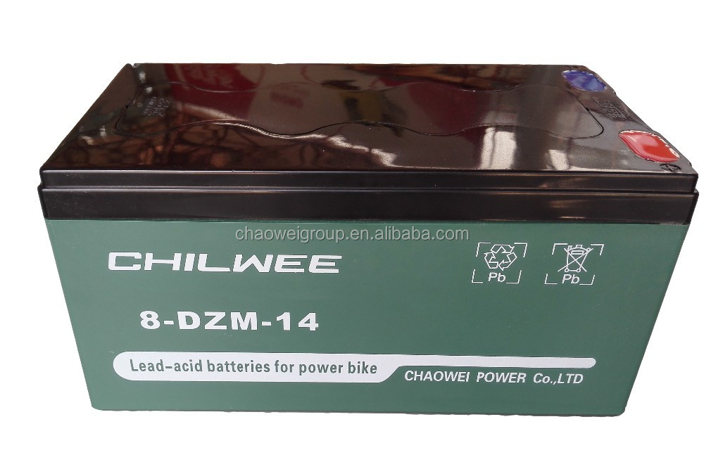 8-DZM-14 16V14A@2HR CHILWEE VRLA Battery for E-bike