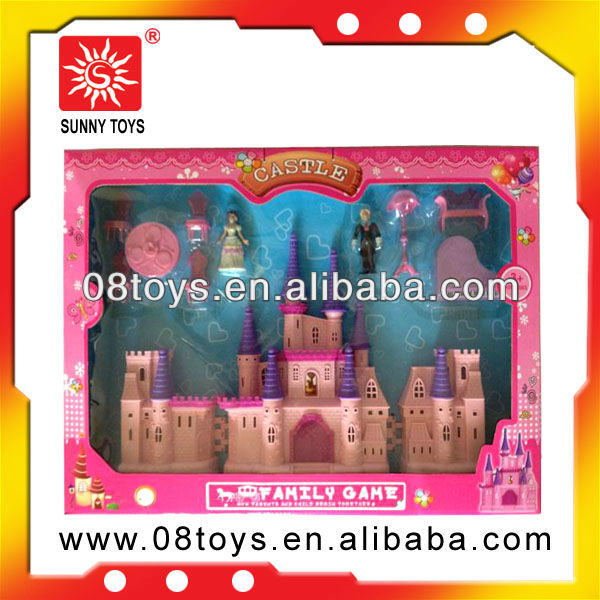Funy plastic big toy house