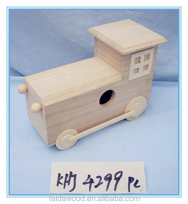 handmade wood crafts wooden car model