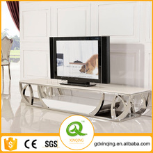 E380 Xingqing Living Room Furniture Marble Showcase Designs Mart Dubai TV Stand