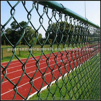 9 gauge PVC Coated Chain Link Fence Manufacturer
