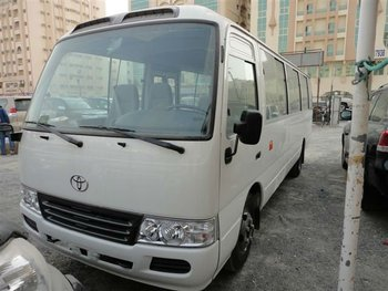 Bus B-6 level armor Toyota Coaster model 2014
