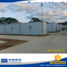 Made in China 20ft galvanized steel structure building portable house price design for UN