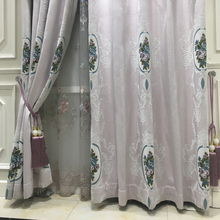 Chinese wholesale european style 100% polyester faux silk curtains