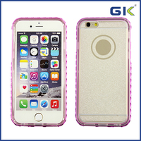 [GGIT] New Arrival Electronic Color TPU & PC 2 In 1 With Diamond Phone Case for iPhone Case