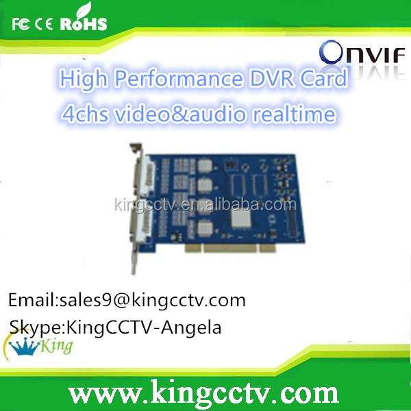 software dvr card techwell HK-804S High Performance DVR Card