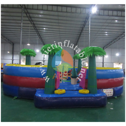 2016 giant inflatable fun city/commercial use inflatable bouncy amusement playground