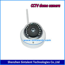 HD 1080P CVI Electronic Security IR 30M Analog Dummy Dome CVI Camera 2 Megapixel DT-008S Zoom Camera